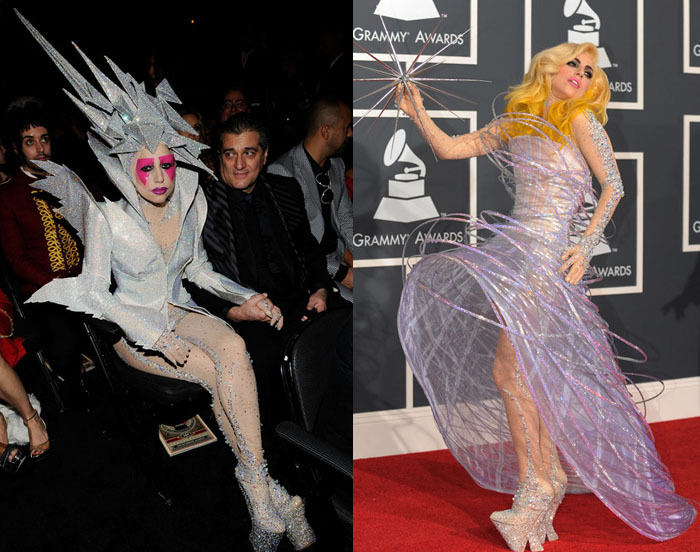 lady gaga weird dresses