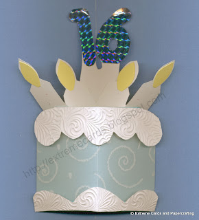 pop up birthday cake
