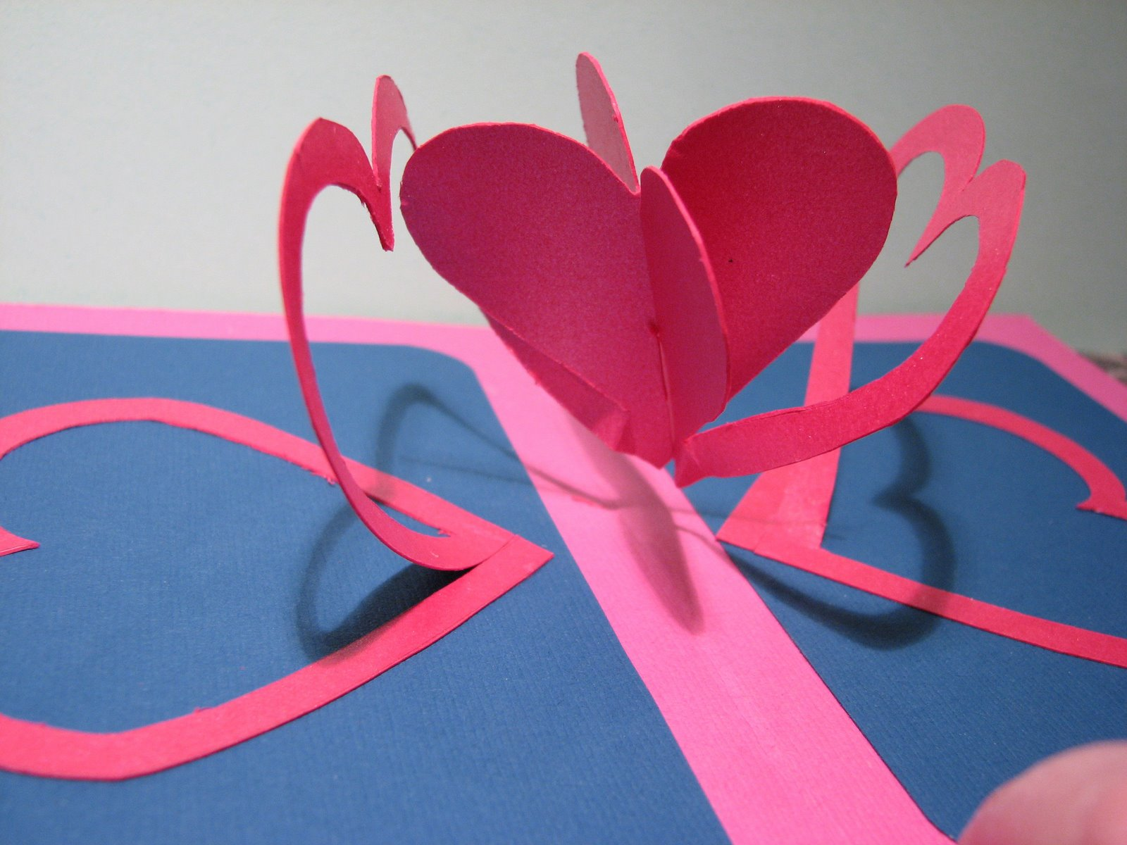 Валентинки поп открытки своими руками
