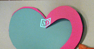 heart pop up card