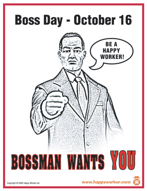 National Bosses Day Clip Art Happy boss day xd