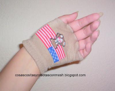 Como hacer guantes sin dedos