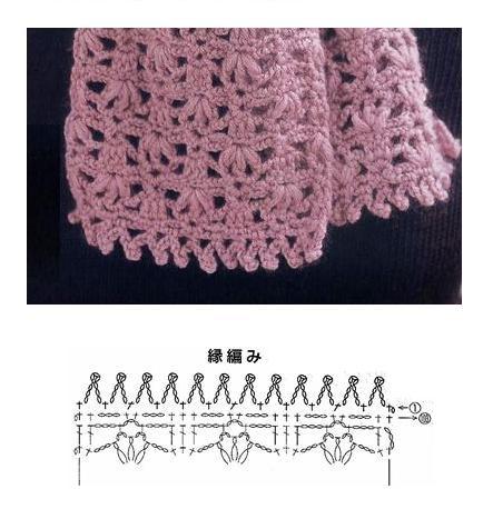 Muchas Bufandas tejidas a crochet : cositasconmesh