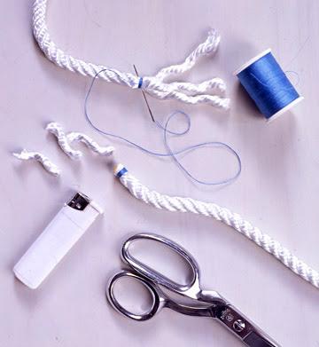 ♥ Alfombras hechas a mano con cordón ♥ Alf5