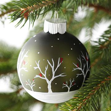 Como decorar una esfera navide a cositasconmesh - Como pintar bolas de navidad ...