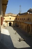 Inner courtyard at Nahargarh