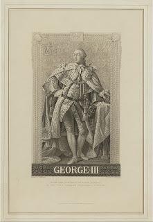 Jorge III, 'GeorgeIII King of England', de la colección de grabados de Miriam e Ira D. Wallach, extraída de www.nypl.org