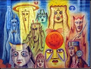 'Máscaras planetarias'(1953)de don Xul Solar