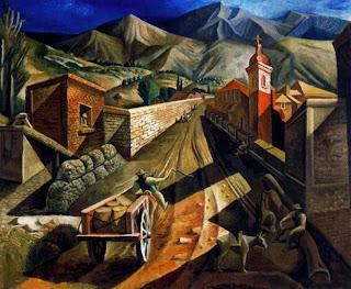 Paisaje de San Juan, obra de don Lino Enea Spilimbergo