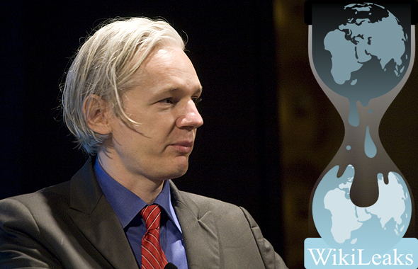 Julian Assange Wikileaks photo