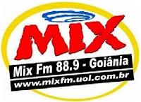 Logo da Rádio Mix Fm de Goiânia