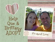 Help Que and Brittany adopt!