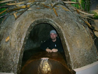 Inside a beavers dam - photo#1