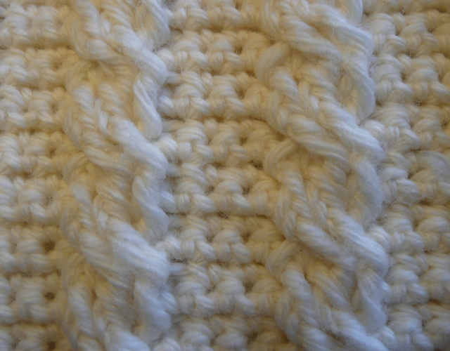 Crochet Cable Stitch : Crochet Cable Stitch - Crochet Club