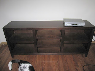 TV Console and Stand for Wide Screens @ Chasing Davies