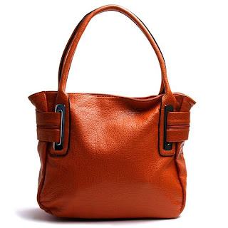 Orange Large tote bag @ Chasing Davies