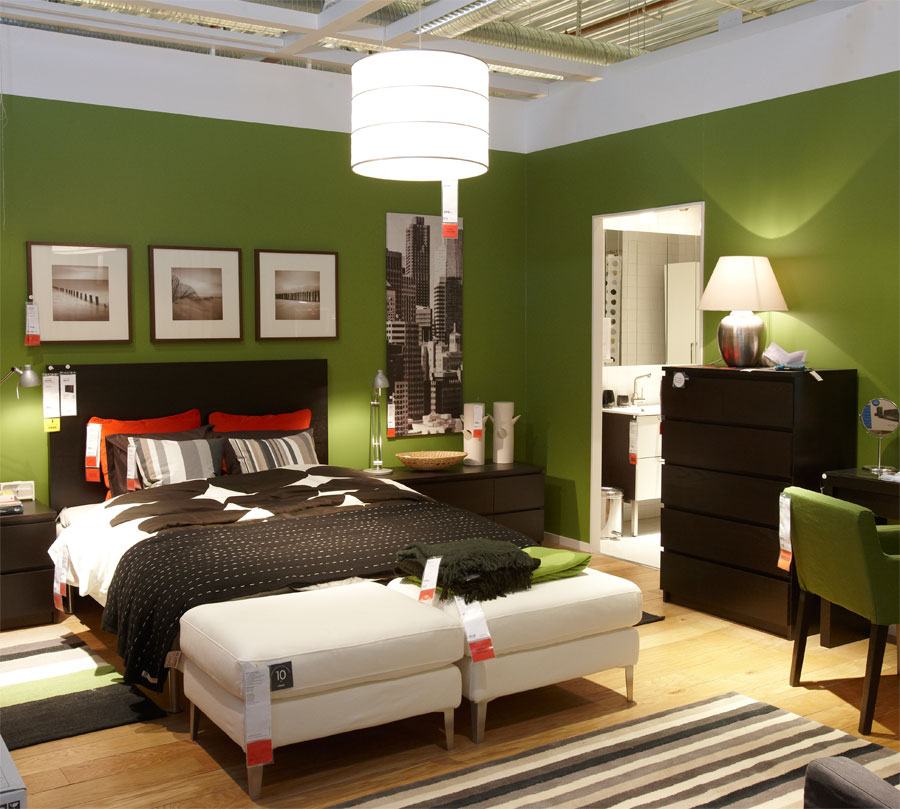 Chasing davies envious of green rooms for Modern interior designs for bedrooms