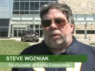 interviewed Steve Wozniak