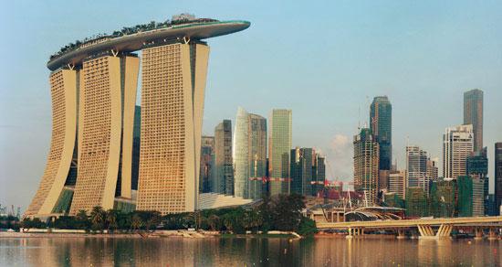marina bay sands - SkyPark in Singapore