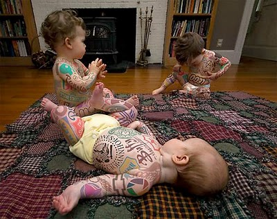 Amazing Baby Tattoos