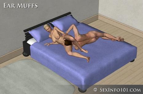 posições sexuais sexo oral mulher protetor orelha