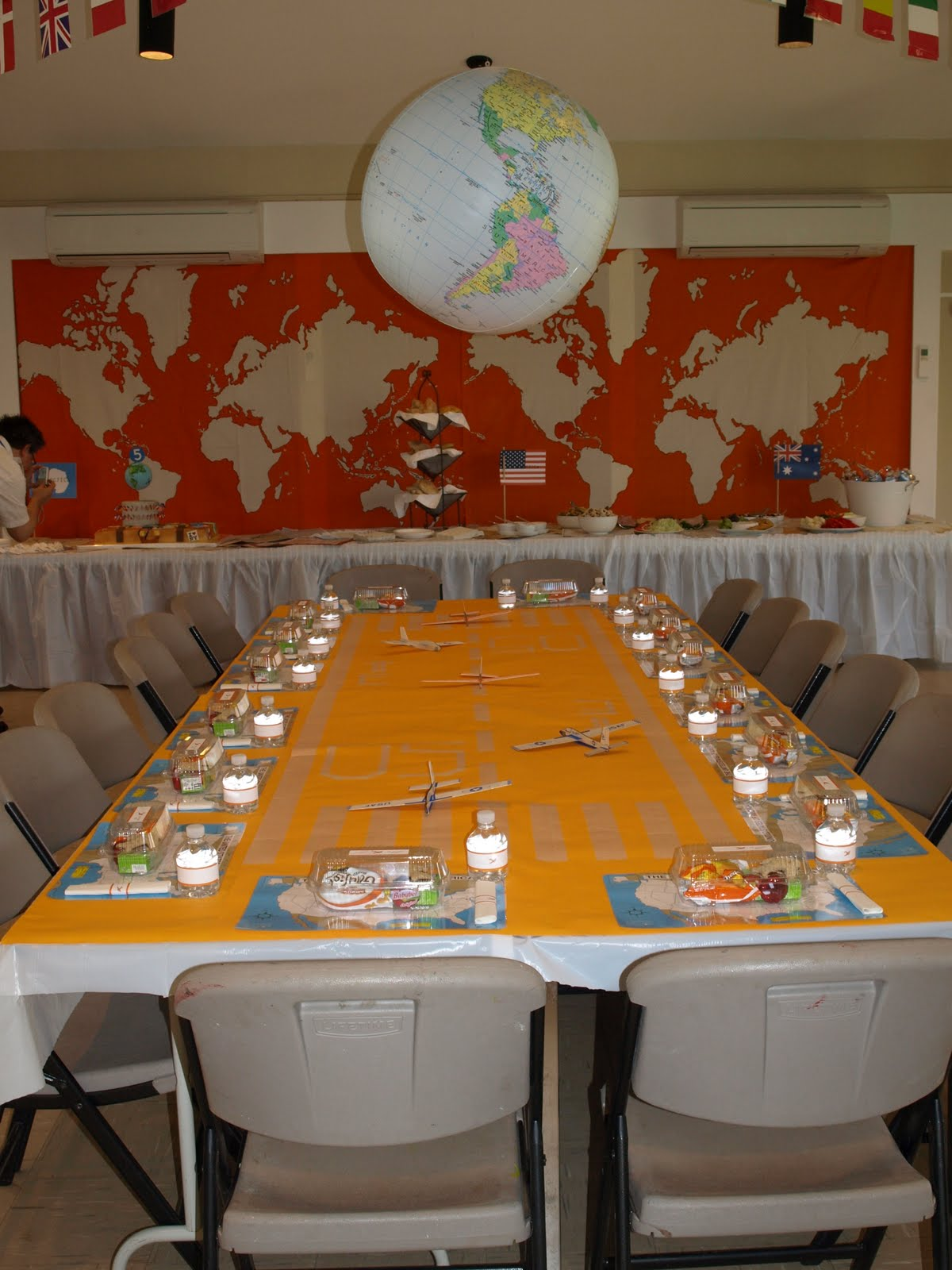 A Party Style Around The World Party