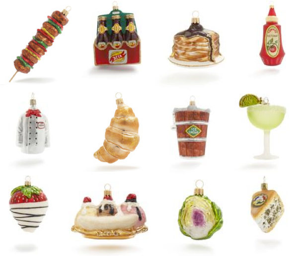 a  party style  kitchen ornaments