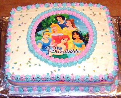 Disney Princess Birthday Cakes on Ananya S 4th Brith Day    Ananya