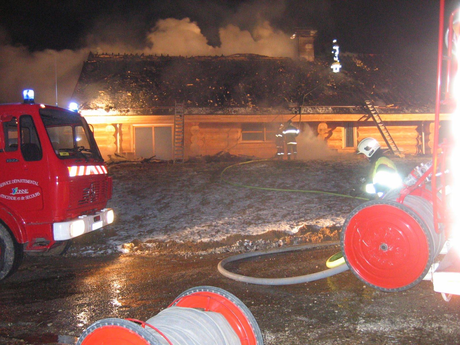 sapeur pompier auxerre et triathlon venizy le chalet de g bourgoin part en fum 233 e