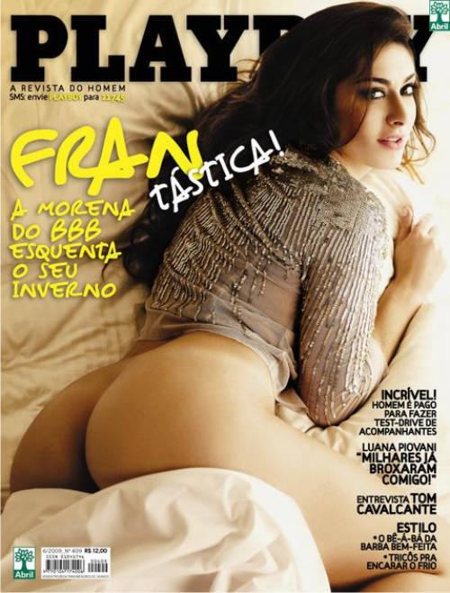 Francine BBB9 - Playboy de Junho Fotos