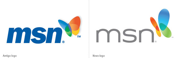 Novo logotipo do MSN