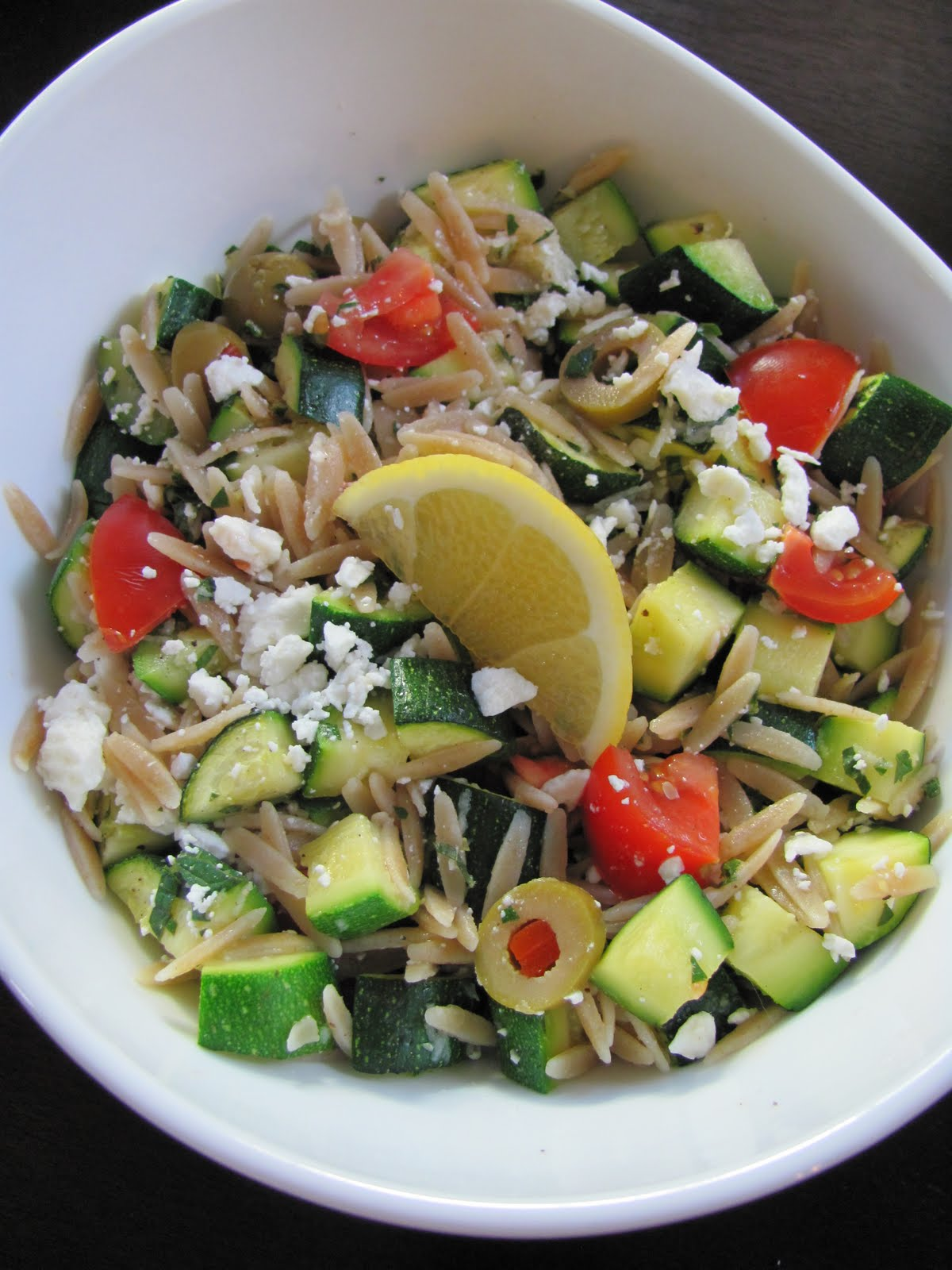Veggie by Season: Minted Orzo and Zucchini Salad