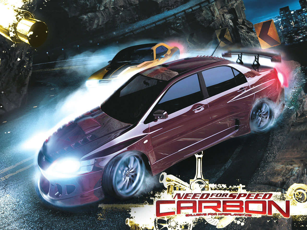 Need for Speed   Carbon (NFS 10) The two men are hot, and groan of pleasure, free gay sex.