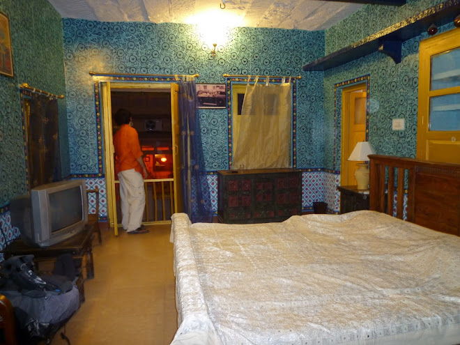 Our room in Jodhpur