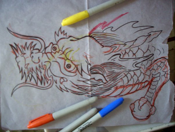 DRAGONSKETCH2009