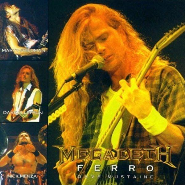 Megadeth - Argentina 1995 Bootleg_ferro_front