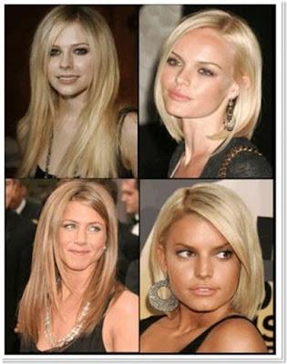 Celebrity Seductive Hairstyles