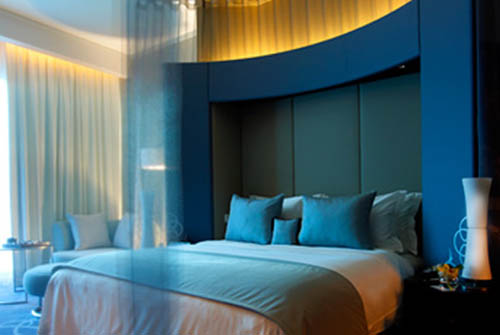 Luxury hotel bedroom design ideas for W hotel bedroom designs