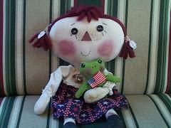 Primitive Patriotic Annie