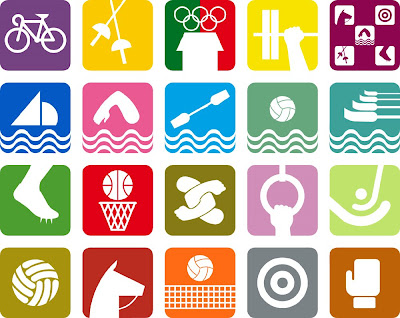 Mexico 68 Olympic Pictograms