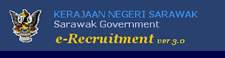 e-Recruitment.gov.my Kerajaan Negeri Sarawak all year vacancy