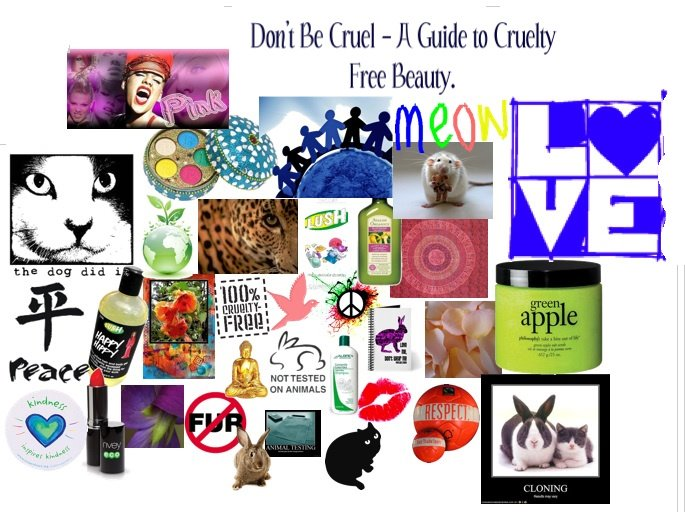 Don't Be Cruel - A Guide to Cruelty Free Beauty.