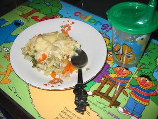 Pratik Yemekler – Tavuklu Sebze Graten