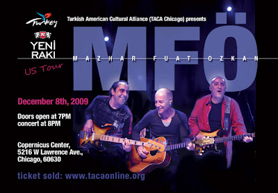 Chicago'da Mazhar-Fuat-Özkan (MFÖ) Konseri