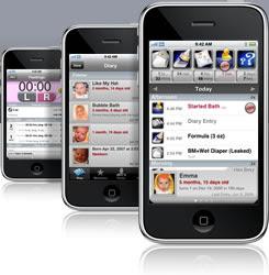 Akıllı telefonlar için ebeveyn / bebek bakımı uygulamaları (apps)