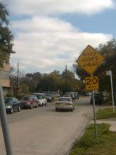 Road HUMPS??