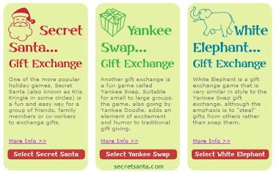"... Exchange Template Santa"" gift-exchange game Secret Santa Office Rules"