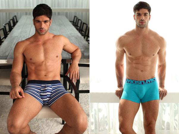 Ex BBB Kadu é o modelo da marca de cuecas Mash