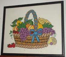 Cozinha - Cesto de frutas