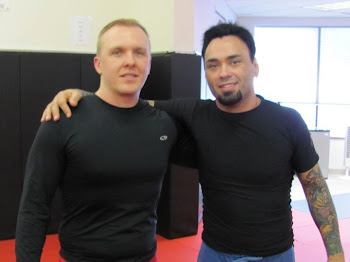Eddie Bravo and I.